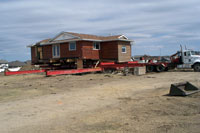 Sylvan Lake House Move